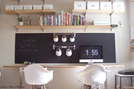 Two Desks In One Office Office Desks For Two At Home With Kim Vallee
