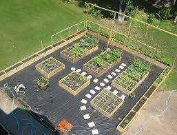 Backyard Vegetable Garden Ideas Raised Bed Vegetable Garden Plans Layout And Spacing With Lounge