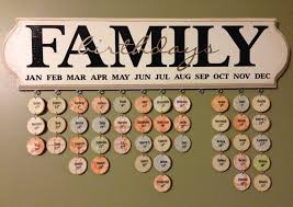birthday board family birthday calendar ideas creative photo design