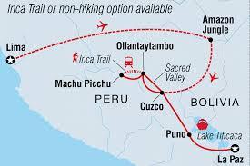Peru On Map Sacred Land Of The Incas Peru Tours Intrepid Travel Us
