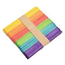 aliexpress com buy 50pcs multi color wooden lollipop popsicle
