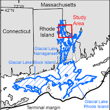 New England Area Map by Deglaciation Of Southern New England Bryan A Oakley Ph D