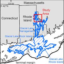 Block Island Map Deglaciation Of Southern New England Bryan A Oakley Ph D