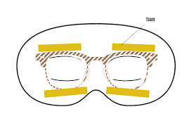 how to wear a masquerade mask with glasses vivo masks