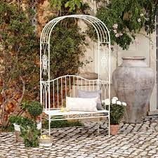 Dunelm Bistro Chair Garden Benches Outdoor Seating Metal Benches Dunelm