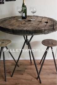 adjustable bar height counter height pub spool bistro table