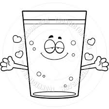 beer cartoon black and white cartoon pint of beer hug black and white line art by cory thoman