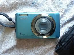 amazon com blue sanyo vpc x1400 14mp digital camera with wide
