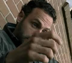 Rick Grimes Crying Meme - rick grimes meme crying