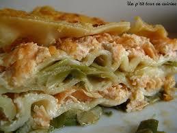 poireaux cuisine lasagnes aux deux saumons et aux poireaux