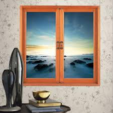 wall decals stickers home decor home furniture diy fairyland 3d artificial window view wall decal room stickers home decor aurora