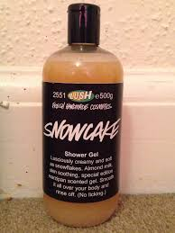 all things lush uk snowcake shower gel after my shower i was left with beautifully scented skin despite being almost four years out of date my old bottle of snowcake shower gel possessed a