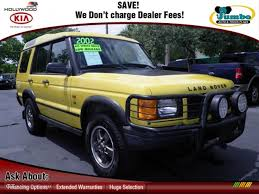 land rover yellow 2002 borrego yellow land rover discovery ii se 69524094 photo 6
