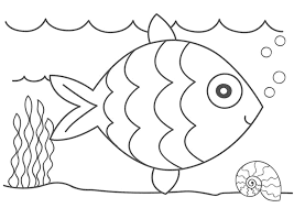 kidscolouringpages orgprint u0026 download printable fish coloring