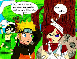 Toph Blind Naruto Reacts To Gaara Vs Toph By Mothralina95 On Deviantart