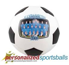 personalized soccer with photo gift idea for coach team