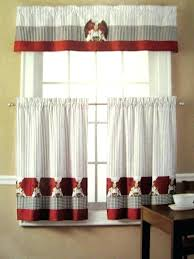 Checkered Kitchen Curtains And White Kitchen Curtains Logischo