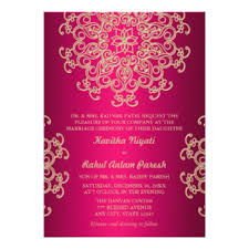 wedding invitations indian indian wedding invitations announcements zazzle