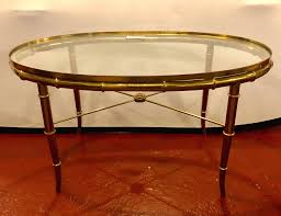 wrought iron coffee table with glass top oval glass top coffee table croosle co