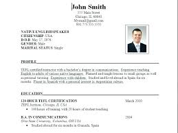 best resume format for students this is best format for resume best curriculum vitae sle