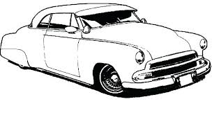 coloring pages of lowrider cars coloring pages for kids to print online muscle car 64 chevy impala