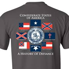 Confederate States Flags Grey Confederate States Of America T Shirt Gadsden And Culpeper