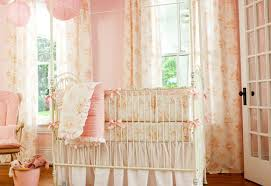 Curtains For Girls Nursery by Curtains Modern Baby Nursery Valance Design Amazing Pink