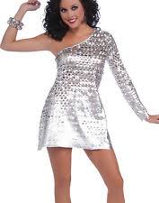 disco dynamite womens red saturday night fever dress 70s