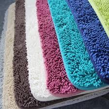 tappeto in microfibra antiscivolo tappetino da bagno in microfibra ciniglia tappeti da