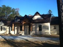 Texas Ranch House Texas Ranch House Style With Stone Metal Roof Accent And Cedar