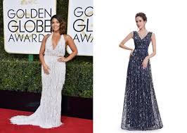 get the golden globes u0027 celeb red carpet looks for less viva glam