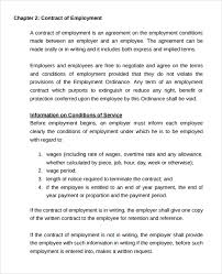 employment contract 11 download documents in pdf doc