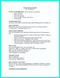 career objective for teacher resume sample resume personal information free resume example and how to write a college golf resume