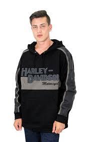 Cheap Harley Davidson Clothes Cheap Harley Davidson Mens Prestige Tonal Stripe Hooded Pullover
