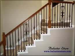 Stair Banisters Uk Ergonomic Metal Stair Rails 65 Metal Stair Rails Exterior Metal
