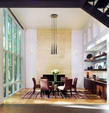 lighting for high ceilings dining room contemporary with 2 story image by moore architects pc