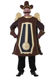 halloween costumes beauty and the beast clock costume