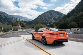 rcf lexus orange all new 2015 lexus rc f packs 467 horsepower and 63 325 starting