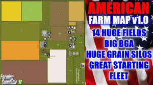 canadian map fs17 farming simulator 17 american farm map v1 0 map mod review