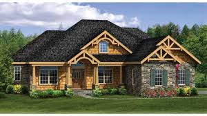 house plans with finished walkout basements craftsman ranch with finished walkout basement hwbdo76439
