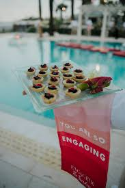 pool party cocktail hour at engage 16