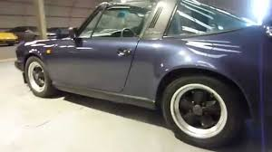 1986 porsche targa porsche 911 targa 3 2 blue walkaround review youtube