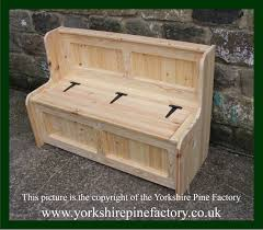 the yorkshire pine factory handmade solid pine monk benches