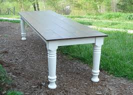 10 ft farmhouse table 10 foot farm table wood dining table farmhouse table rustic