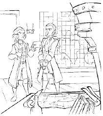 coloriage a imprimer pirate des caraibes william prisonnier