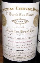 learn about chateau cheval blanc 1999 château cheval blanc bordeaux libournais st