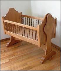 Free Wood Baby Cradle Plans by Baby Room