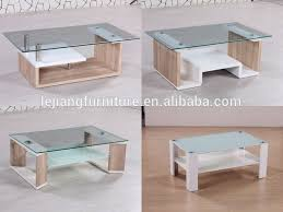white mdf table top white pu high gloss and 3d paper rectangular glass top mdf coffee