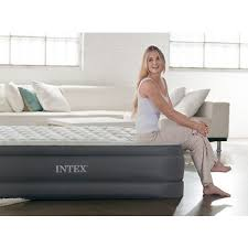 Intex Sofa Bed by Premaire By Intex Queen Elevated Air Bed With Pump Bj U0027s