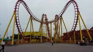 speed of roller coaster wonderla amusement park hyderabad roller coaster high